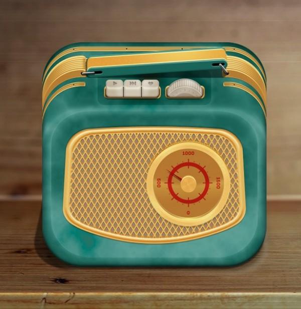 Radio Button Icon Graphic