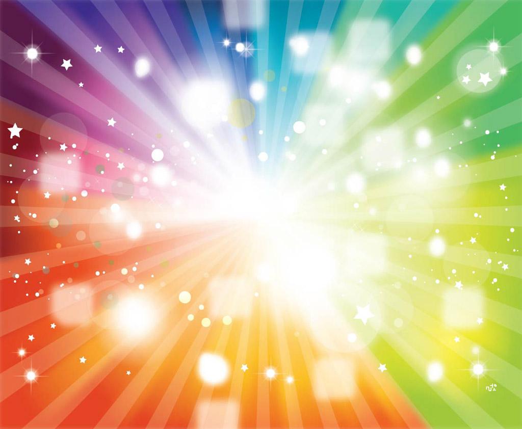 Rainbow Sparkle Light