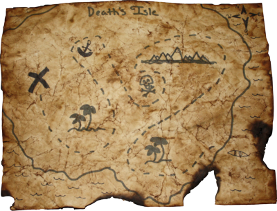 7 PSD Treasure Map Images