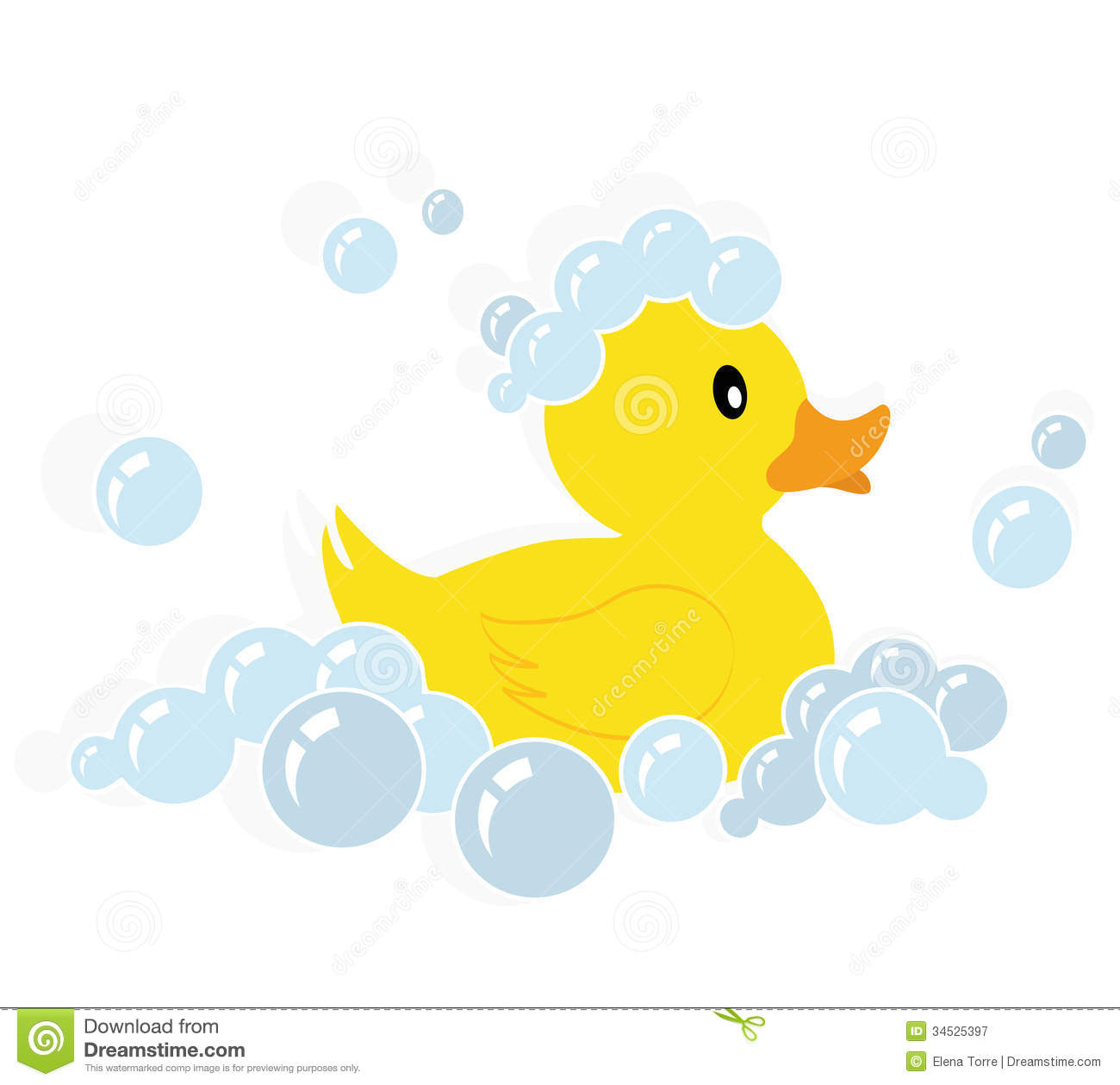12 Rubber Ducky Clip Art Vector Images