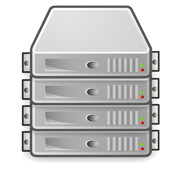 12 Blade Server Icon Images