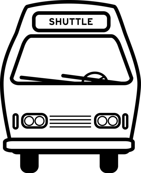 9 Photos of Shuttle Bus Graphics