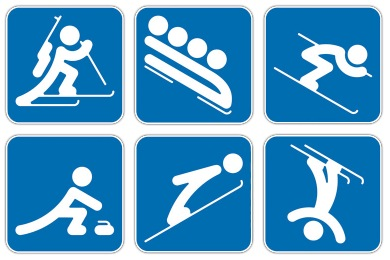 Sochi Olympic Sports Icons