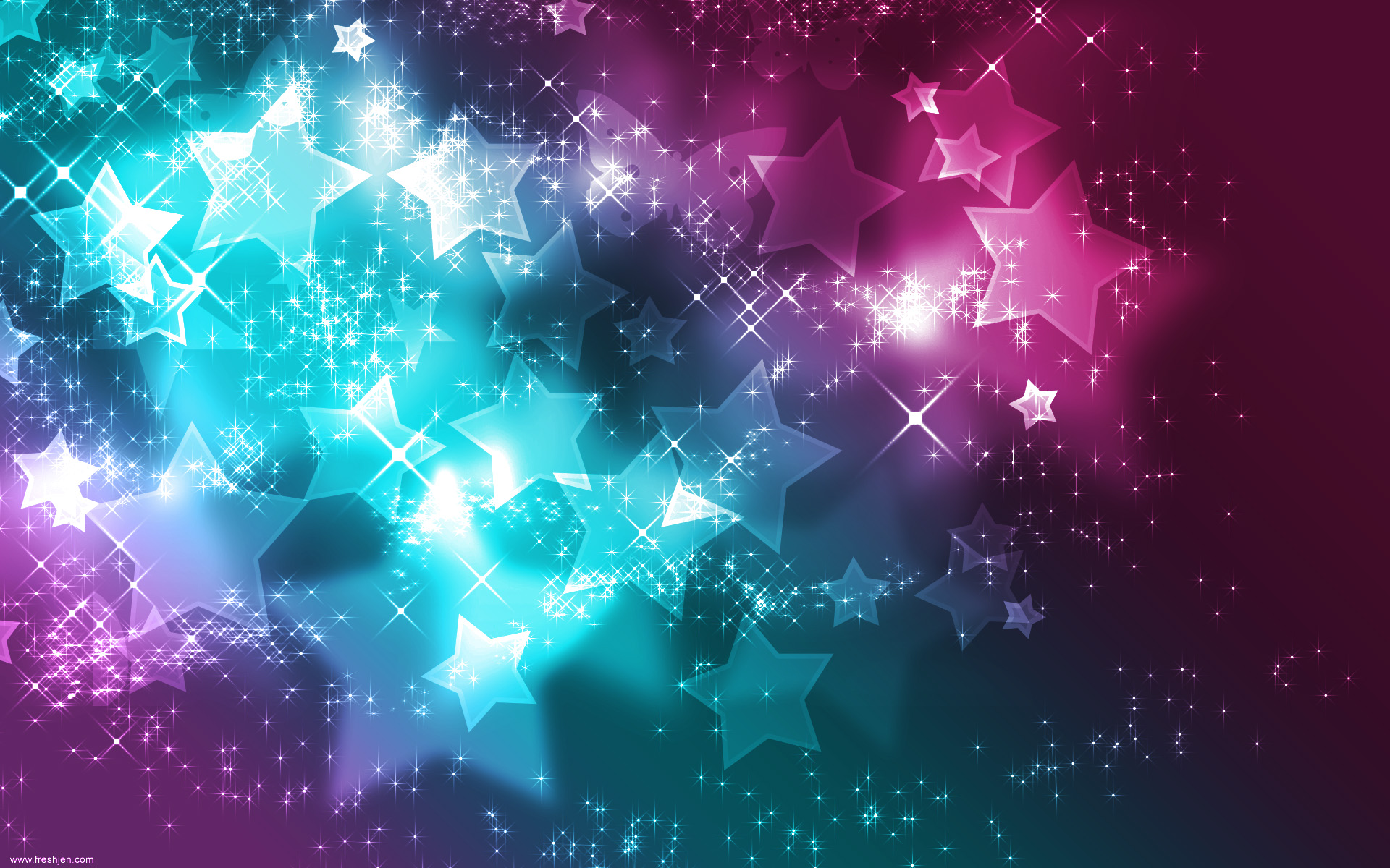 Sparkly Stars Backgrounds Free