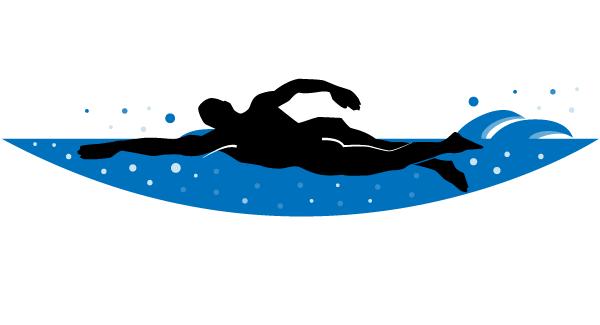 14 Swimmer Vector Art Images