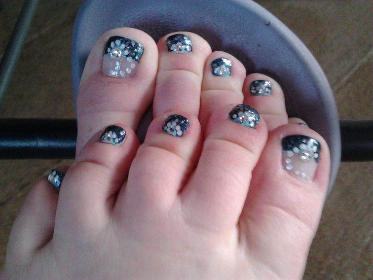19 Ocean Toe Nail Designs Images