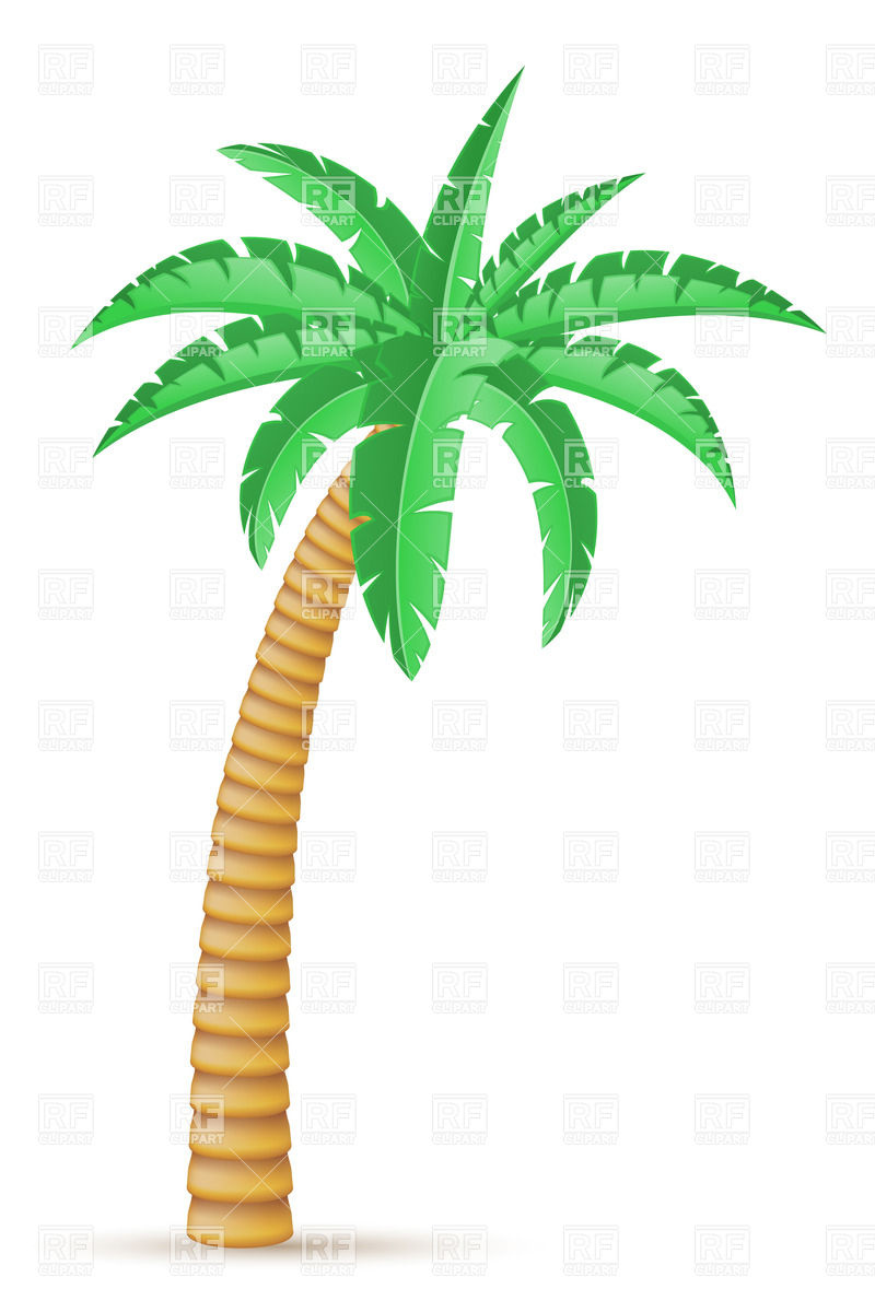 16 Free Vector Clip Art Of Palm Tree Images