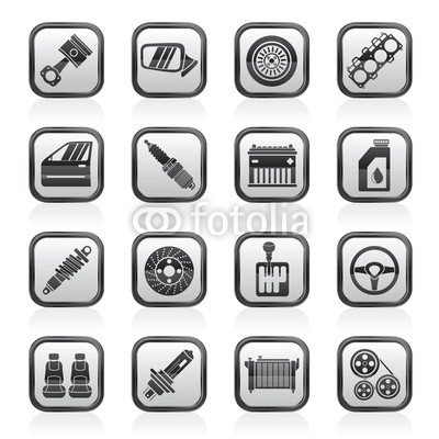 Vector Car Parts Icon
