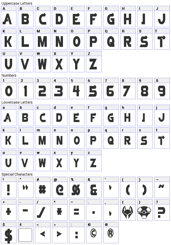 Vector Font Free Download