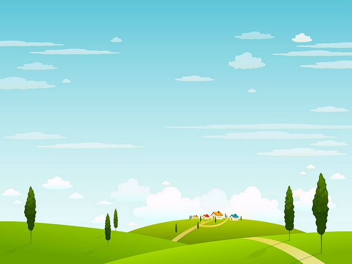 Vector Landscape Illustrations