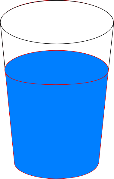 11 Cartoon Water Glass Icon Images