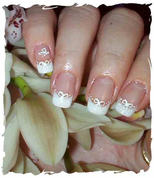 14 Beautiful Wedding Nail Designs Images
