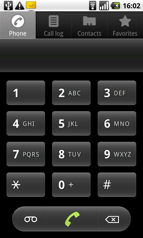 Windows Phone Dialer