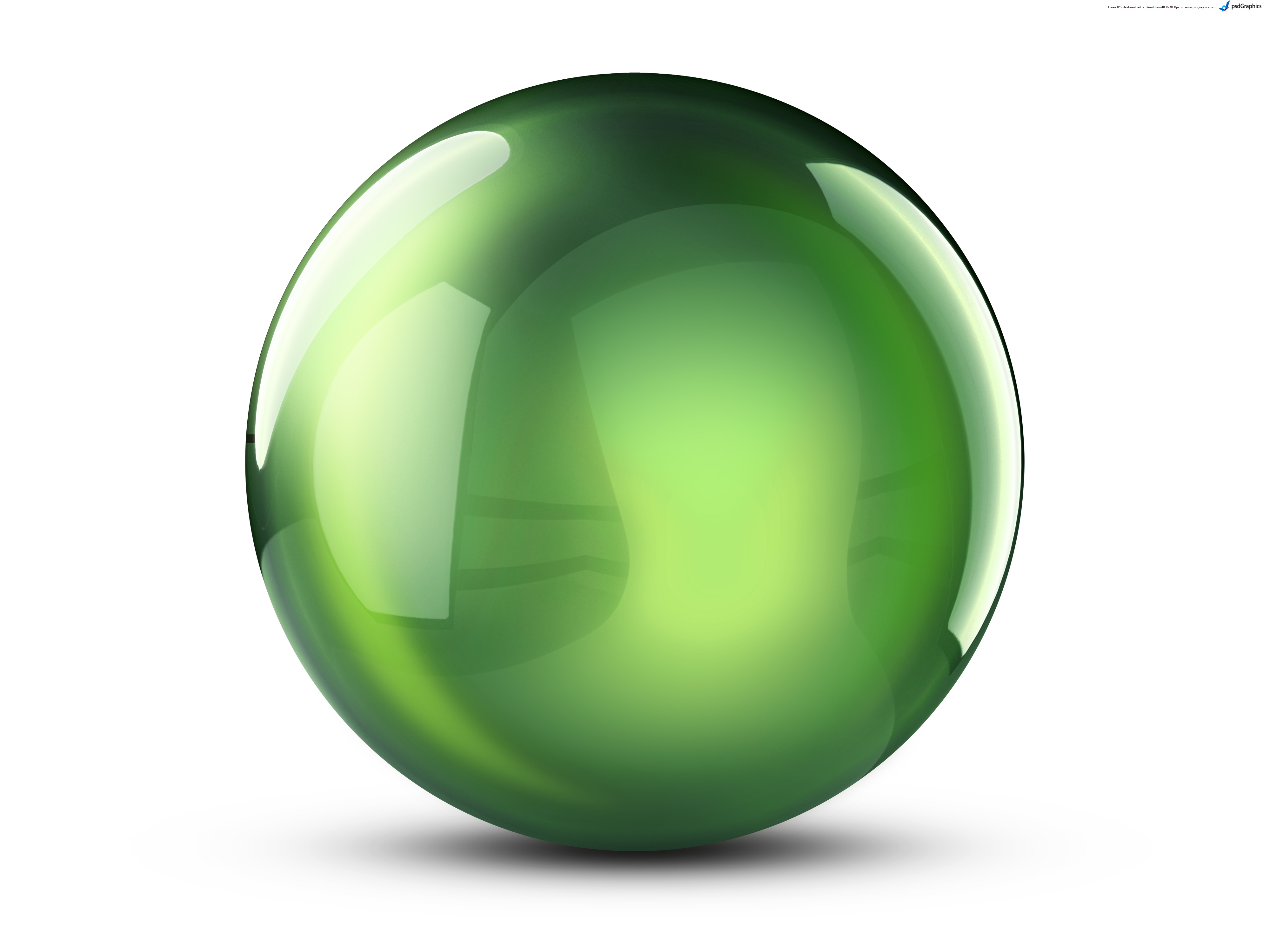 14 Green Sphere Icon.png Images