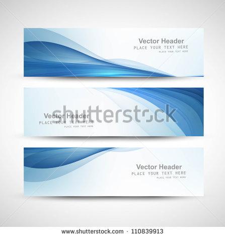 8 Wavy Header Design Images