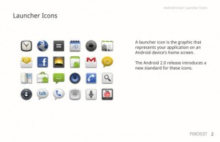 Android Icon PSD