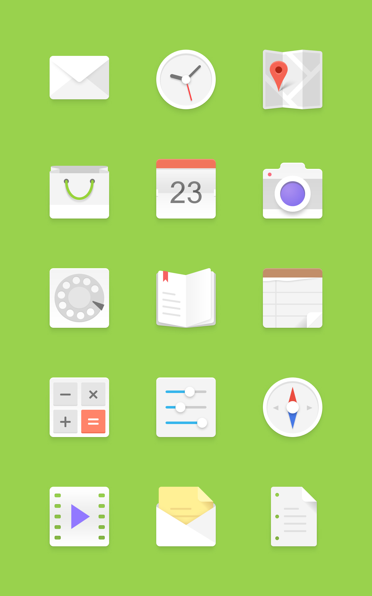 Android Icon Set Download