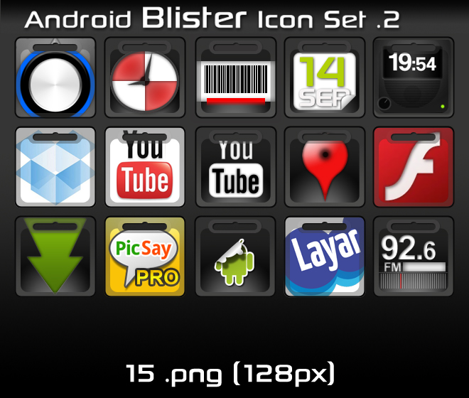 Android Set Icons