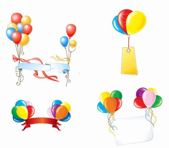 Balloon Vector Art Free