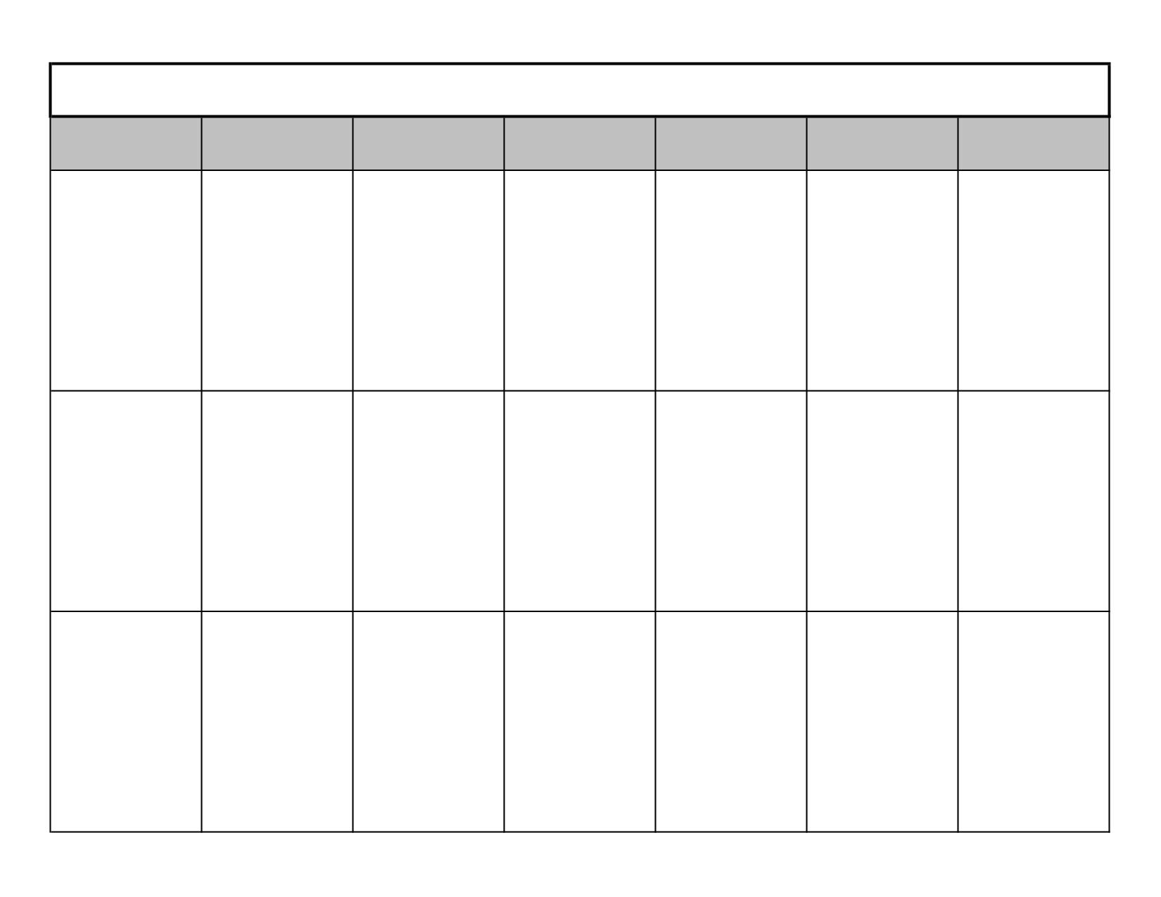 Blank One Month Calendar Template 8785024 Hitori49fo