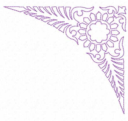 Border Corner Embroidery Patterns