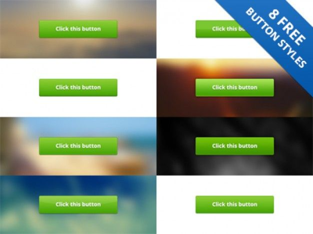 13 Green PSD Styles Images