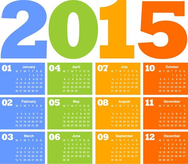 Calendar 2015 Free Download