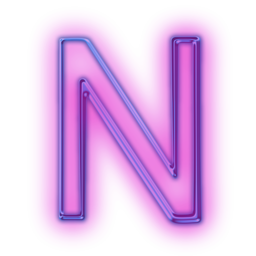 9 Letter N Icon Images