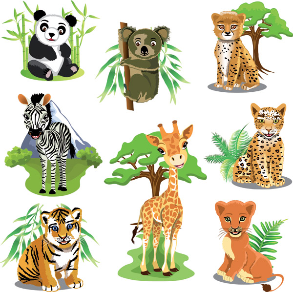 Cartoon Animals Clip Art