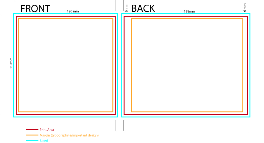 Cd Case Cover Template