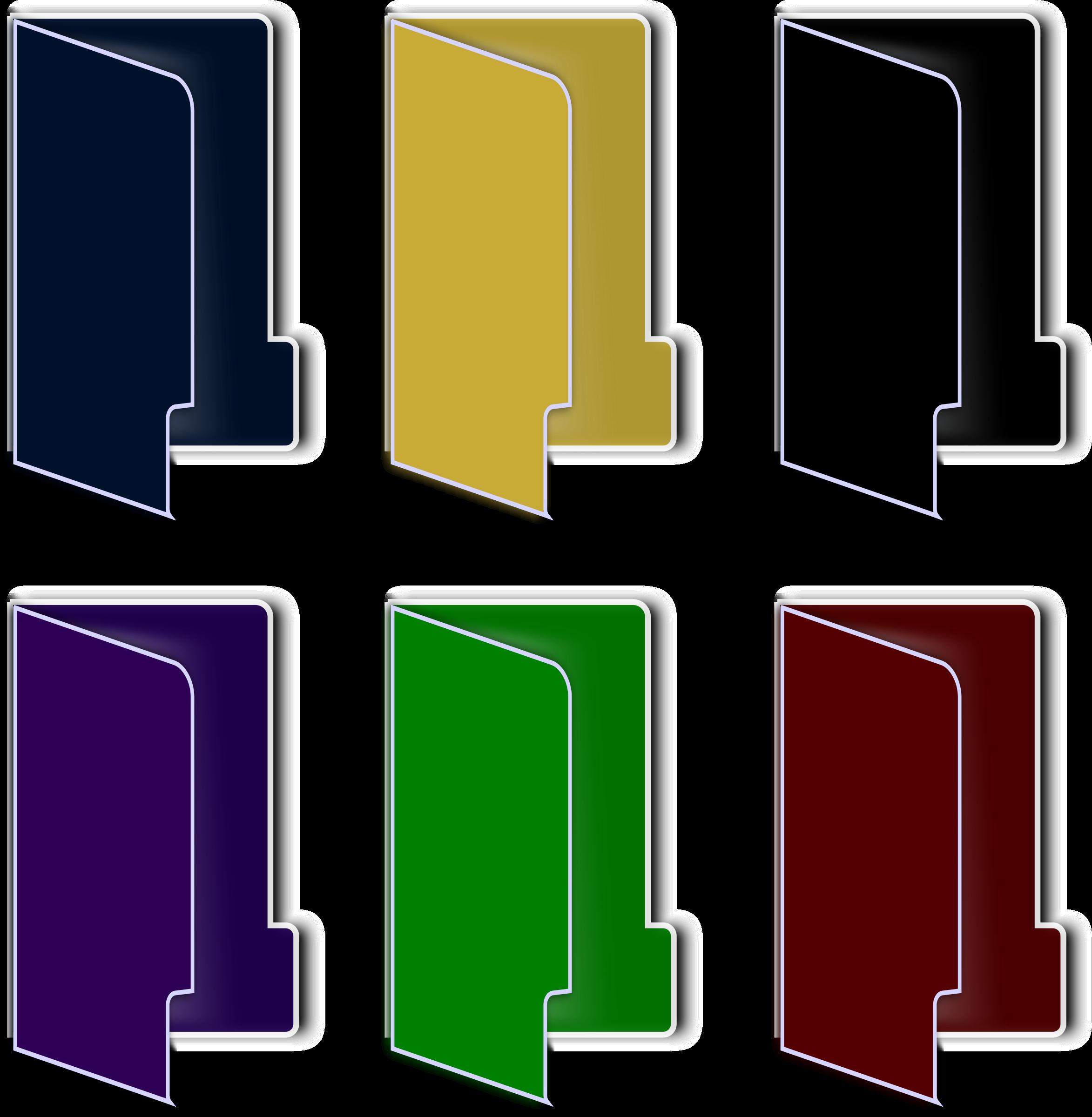 18 Colored Folder Icons Images - Windows Folder Icons ...