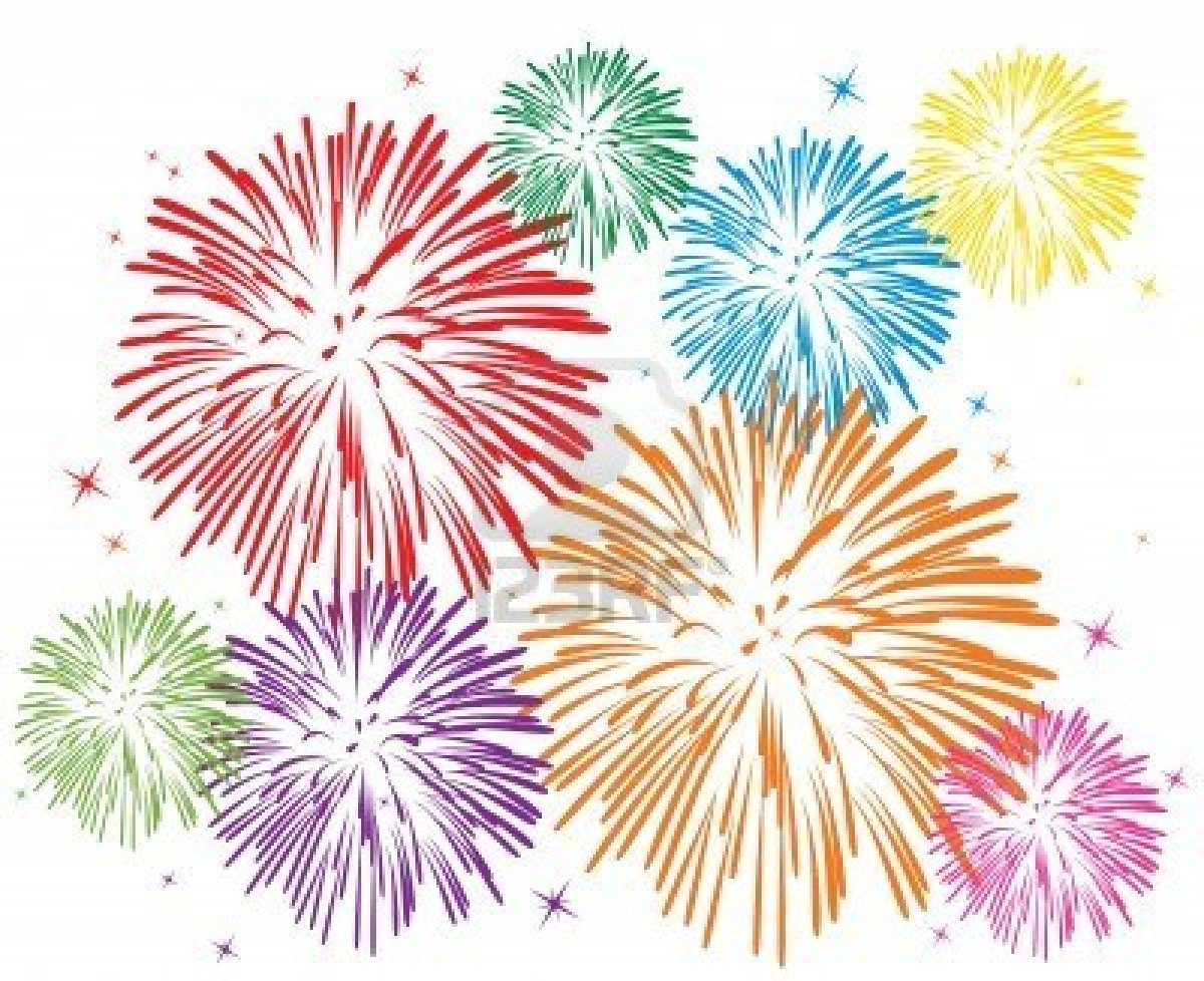 12 Firework Vector Clear Background Images