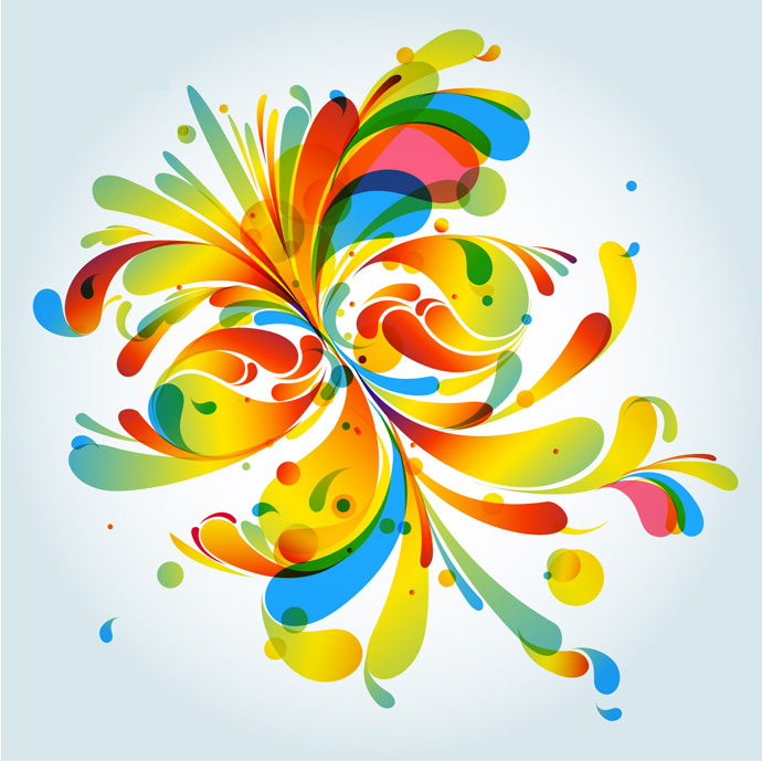 Colorful Pattern Vector Graphics Free