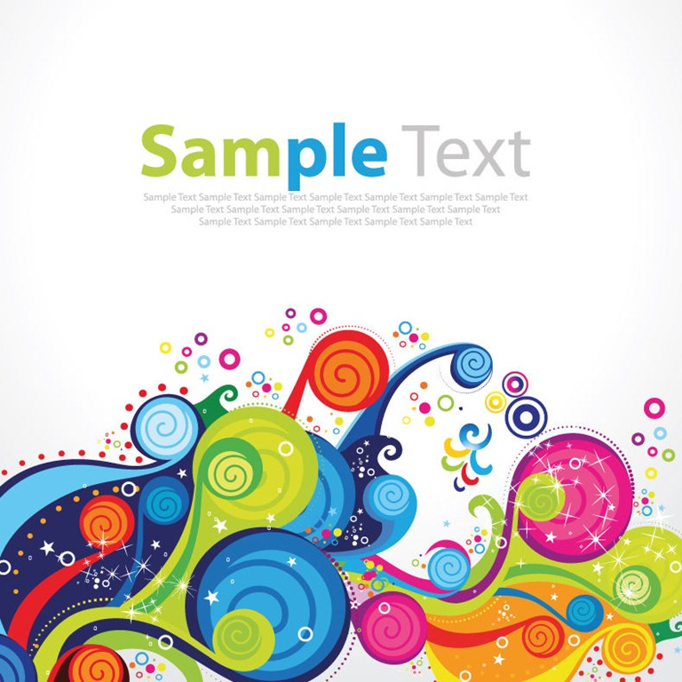 Colorful Pattern Vector Graphics