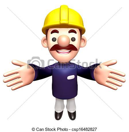 Construction Man Clip Art Free