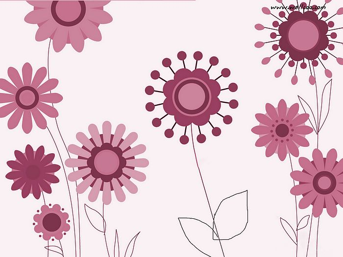 Cute Flower Design Pattern