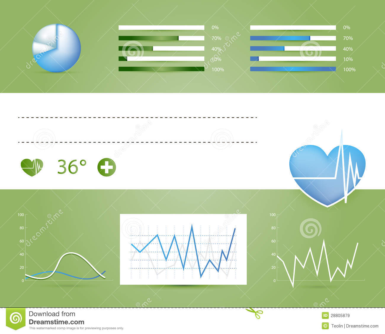 Design Medical Infographic Elements