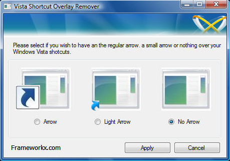 Desktop Shortcut Arrows Windows 1.0 Icons