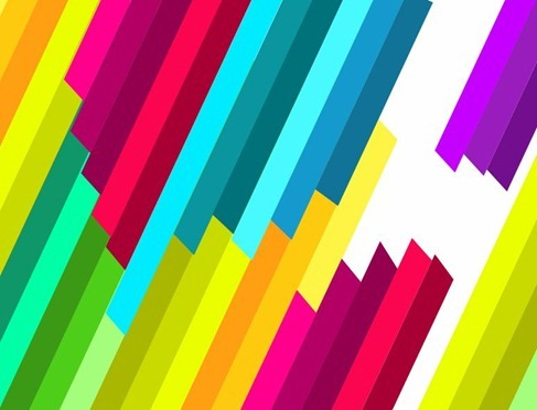 Diagonal Vector Stripes Pattern