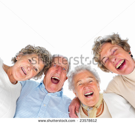 10 Laughing Old People Stock Photos Images