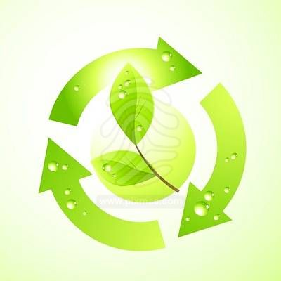 12 Environment Green Leaf Icon Images