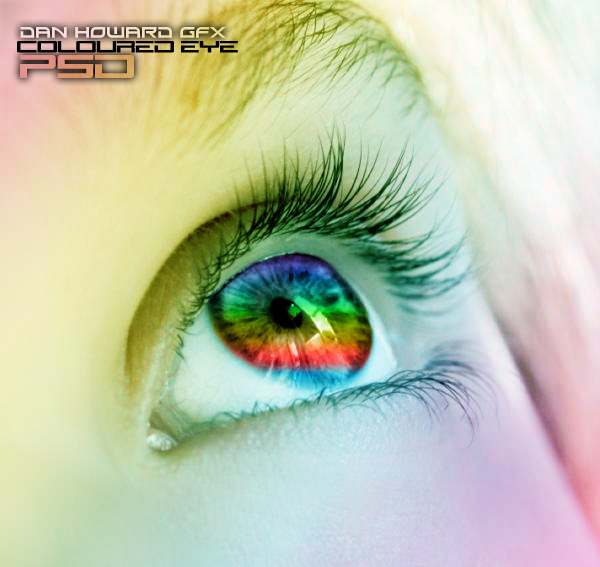 17 Photoshop Eyes PSD Images