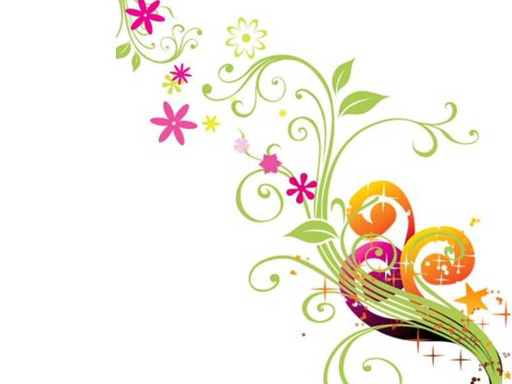 16 Wallpaper Flowers Design Graphics Images