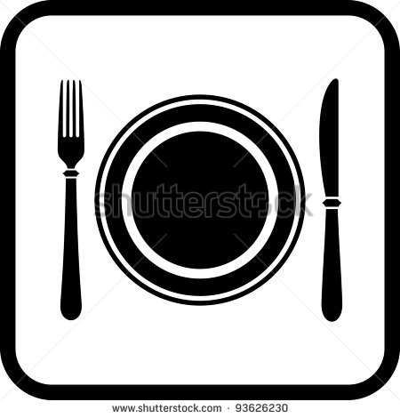 19 Knife And Fork Vector Icon Images