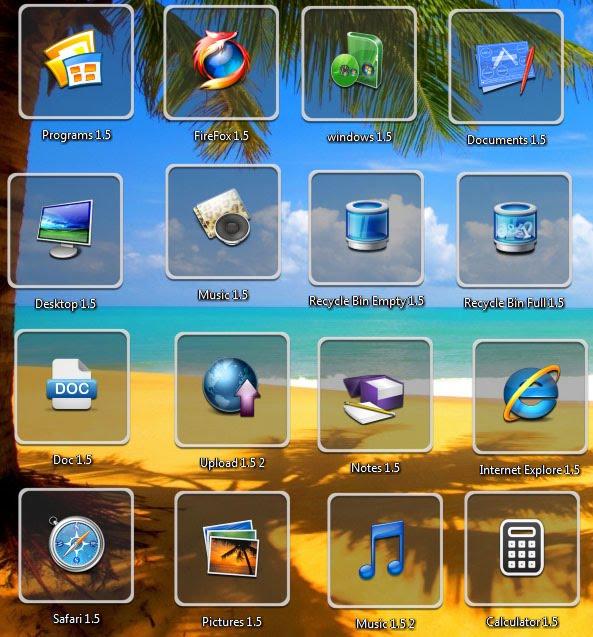 17 3d animated desktop icons images free 3d desktop