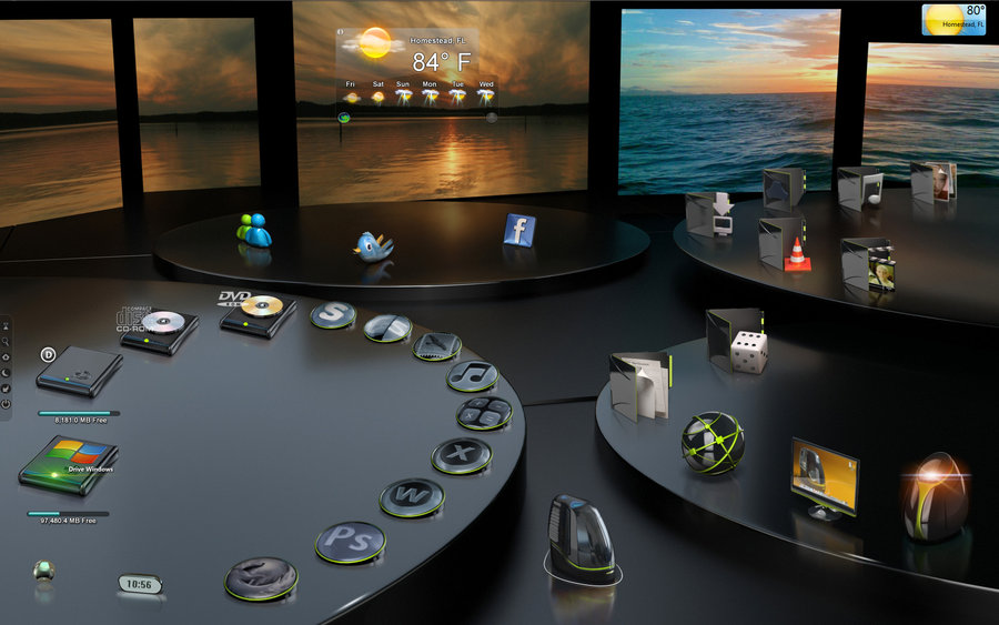 17 3D Animated Desktop Icons Images