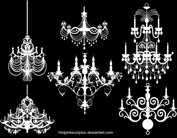 13 Chandelier Business Card Graphics Free Images