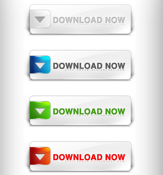 15 Web Design Buttons PSD Free Download Images
