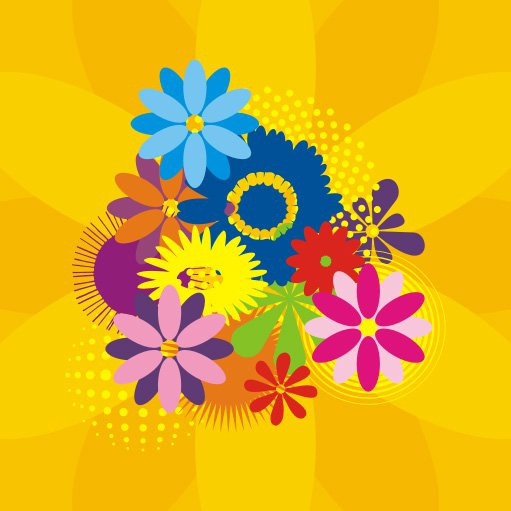 Free Graphic Flower Designs