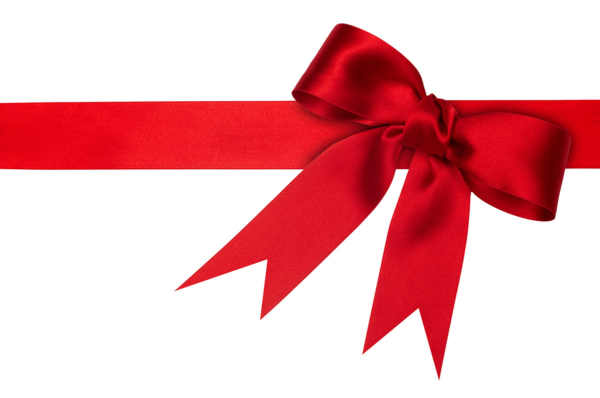 Free Red Ribbon Photoshop